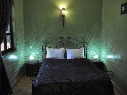 Riad-Kaila chambre-Emeraude 1